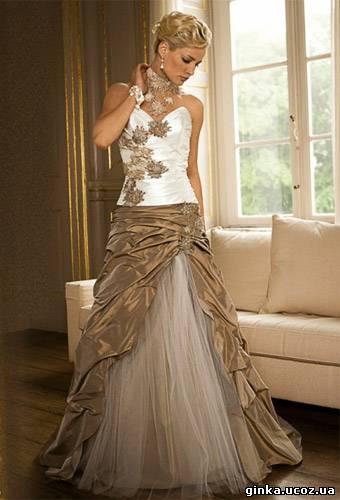 Как сделать из свадебного платья вечерние